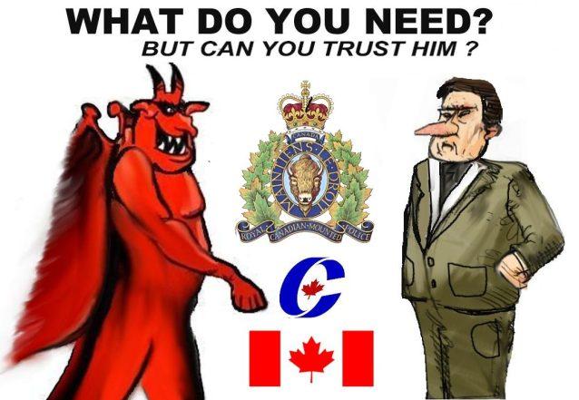 RCMP.satan.MINISTER