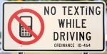 1 no texting