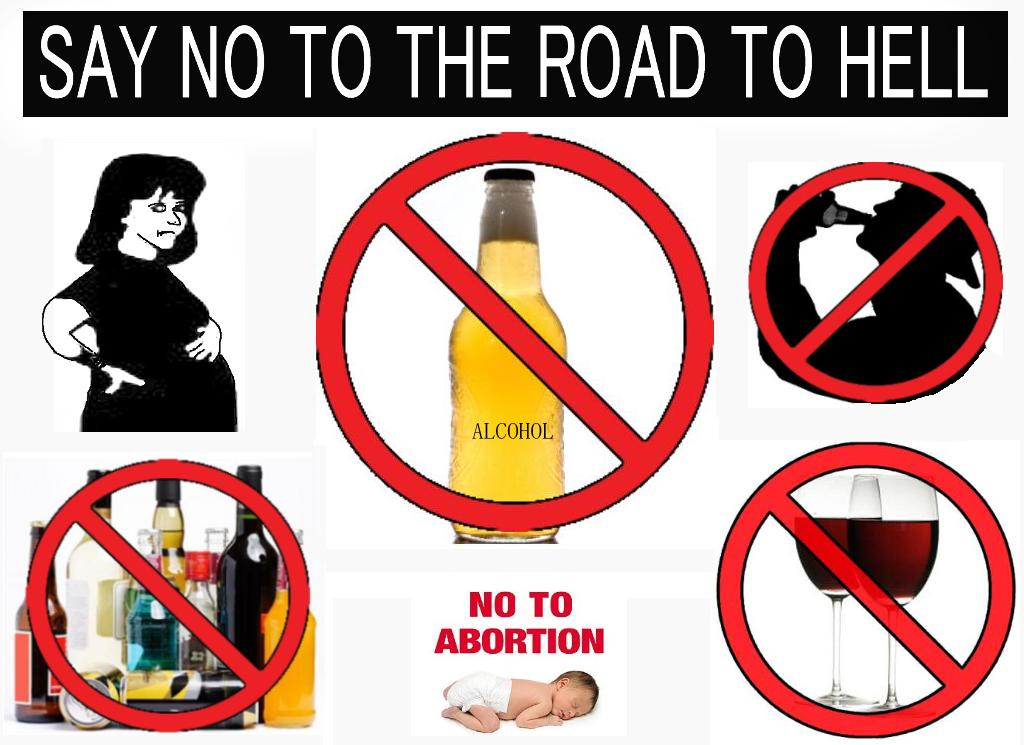 Say No to Drug Slogans http://thenonconformer.wordpress.com/2009/09/02/drink-alcohol-and-die/