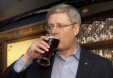 pm stephen harper beer1