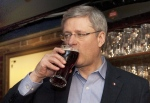 pm stephen harper beer1
