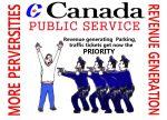 Canada police farce