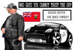 Ontario police farce