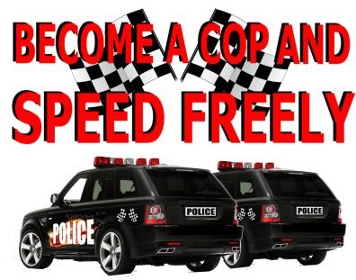 SPEEDING POLICE