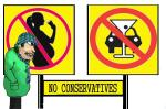 NO CONSERVATIVES  (4)