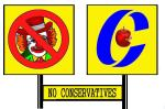 NO CONSERVATIVES  (8)
