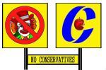 NO CONSERVATIVES  (8)