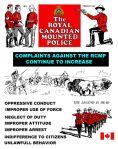 rcmp complaints