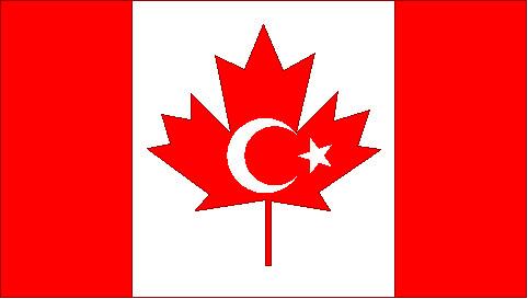 Canada Muslims flag