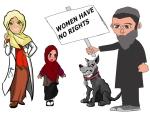 0 MUSLIMS.  (9)