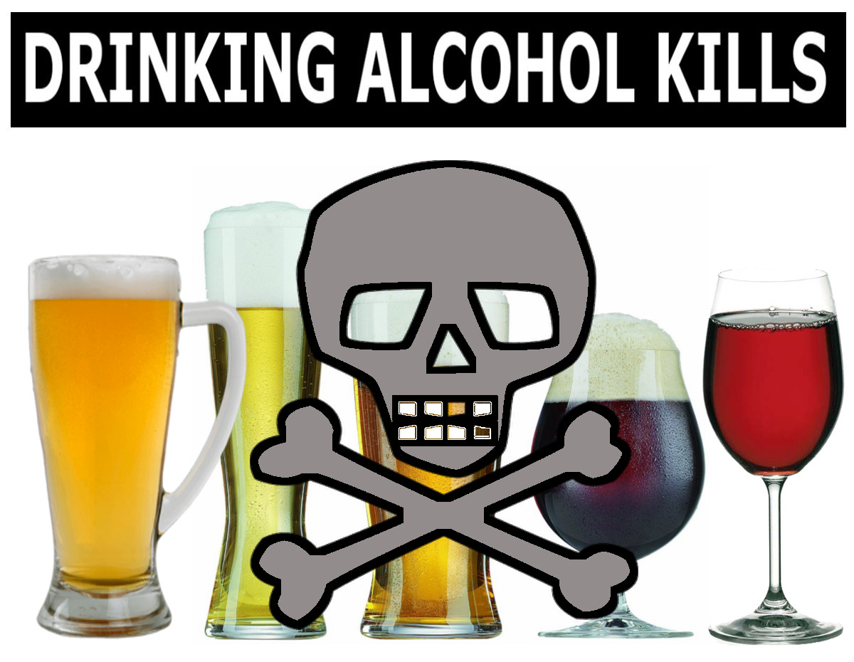 alcohol drinking 2 Long-term effects of alcohol binge drinking and continued alcohol use in large amounts are associated with many health problems, including: unintentional injuries such as car crash, falls, burns, drowning.